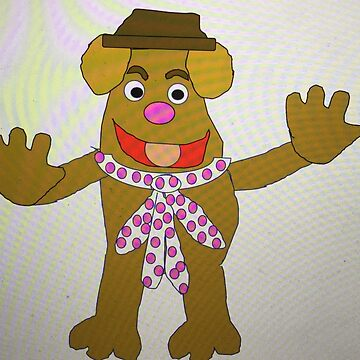 The Muppets Fozzie Bear by cathyhelen20011