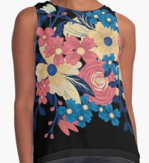 Floral Flare Travel Contrast Tank