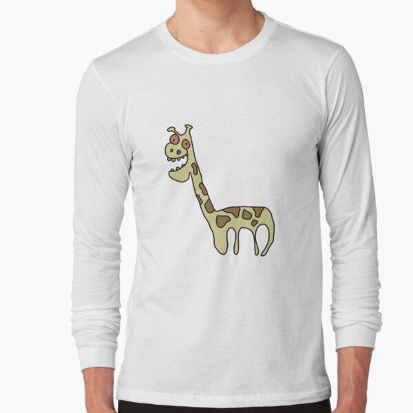 Girafe T-shirt design Africa Animal Mignon Cartoon Tee Drôle Cadeau Anniversaire