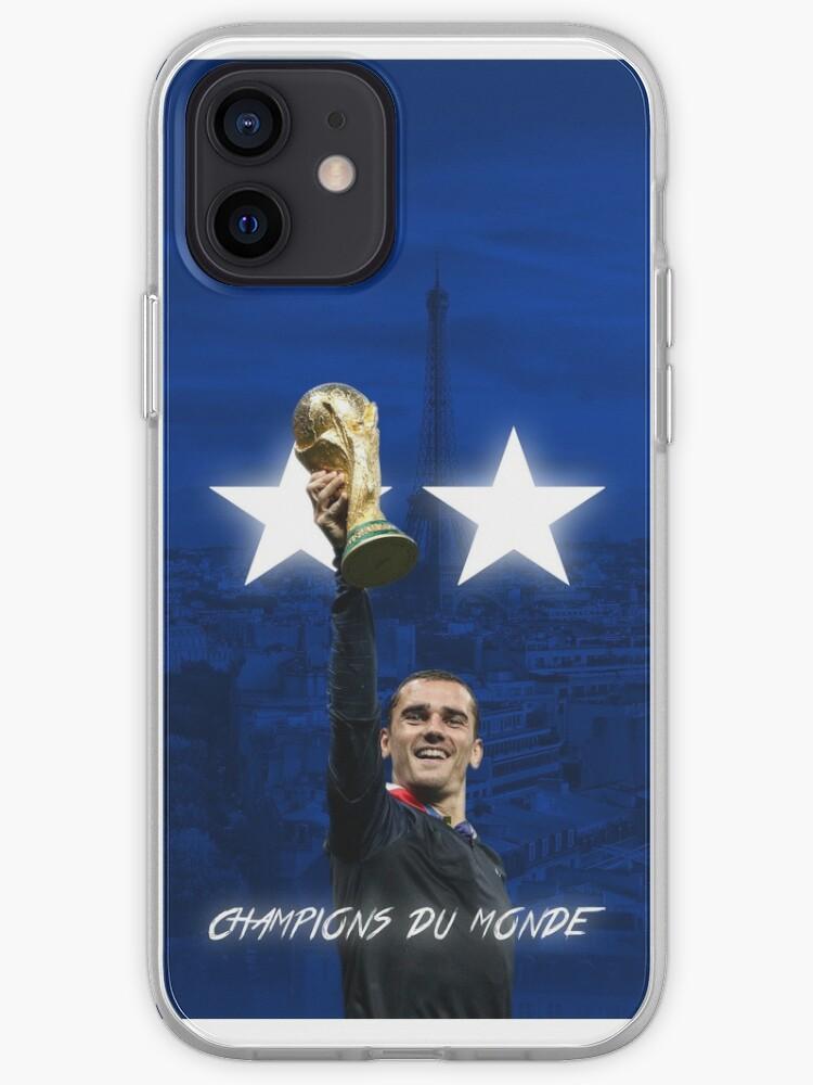 Antoine Griezmann - France - Champions de la Coupe du monde 2018 - Champions Du Monde | Coque iPhone