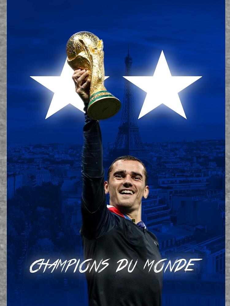 Antoine Griezmann - Francia - Campeones de la Copa Mundial 2018 - Champions Du Monde de ConArtistLFC