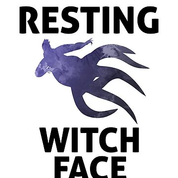 Resting Witch Face Inspired Silhouette by InspiredShadows