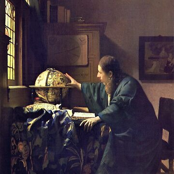 HD The astronomer, by Johannes Vermeer - HIGH DEFINITION by mindthecherry