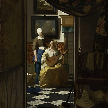 HD The Love Letter, by Johannes Vermeer HIGH DEFINITION by mindthecherry
