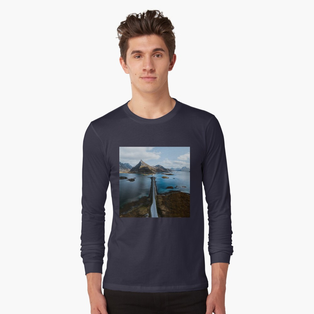 Lofoten Islands Long Sleeve T-Shirt