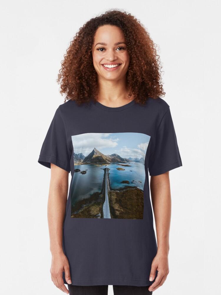 Alternate view of Lofoten Islands Slim Fit T-Shirt