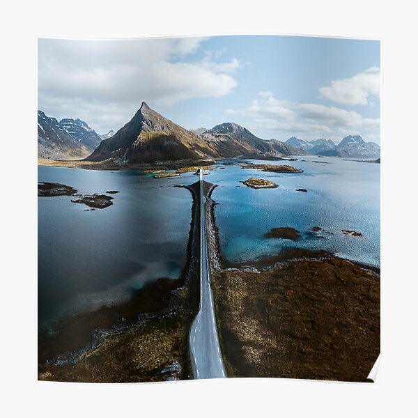 Lofoten Islands Poster