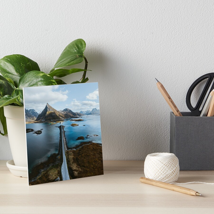Lofoten Islands Art Board Print
