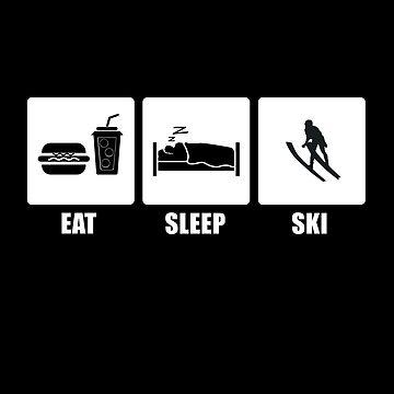 Eat Sleep SKI by CarlosV