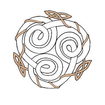 Celtic Triskele by amandamakepeace