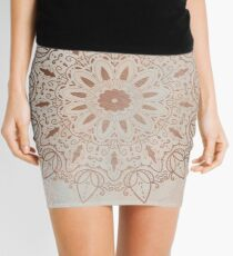 Peachy Mandala Mini Skirt