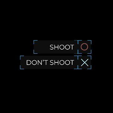 DBH: shoot Chloe / don't shoot Chloe by flaminska