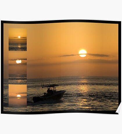 Sunrise Collage Poster