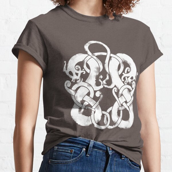 Twin Norse Dragons Classic T-Shirt