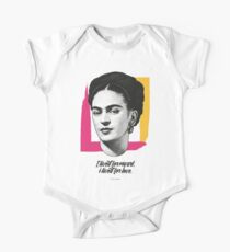 "Frida Kahlo - ""Vissi d'Arte"" Collection - Art Print One Piece - Short Sleeve"