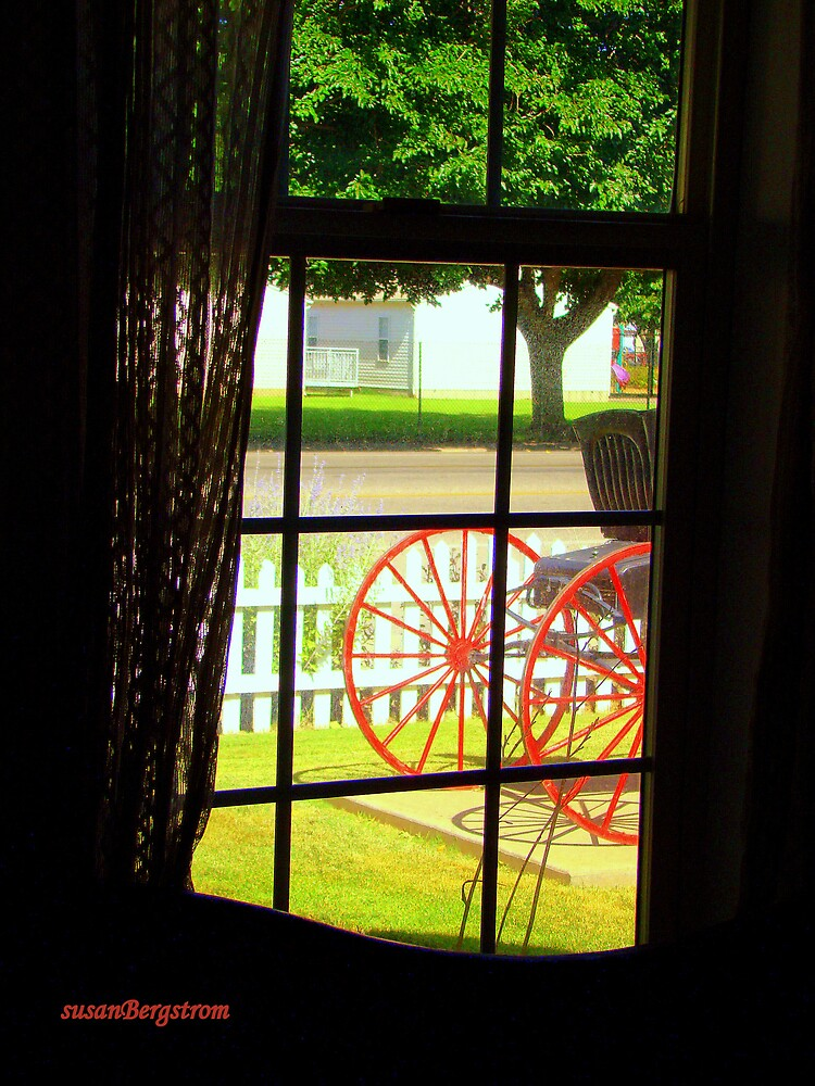 Out the Window by Susan  Bergstrom