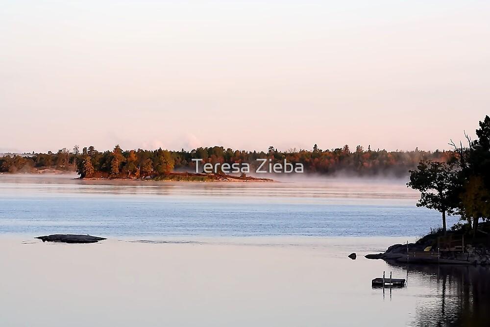 Early September Morning by Teresa Zieba