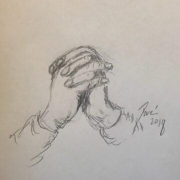 Praying Hands by Dorejaeger