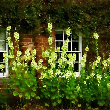 Hollyhock house by missmoneypenny