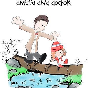 Amelia & Doctor by Uwaki