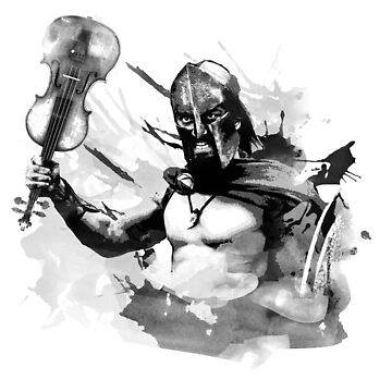 violin warrior by vivalarevolucio