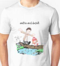 Amelia & Doctor Unisex T-Shirt