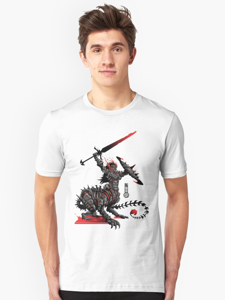 The Game of Kings, Wave Two: The Black King's Knight Unisex T-Shirt Front