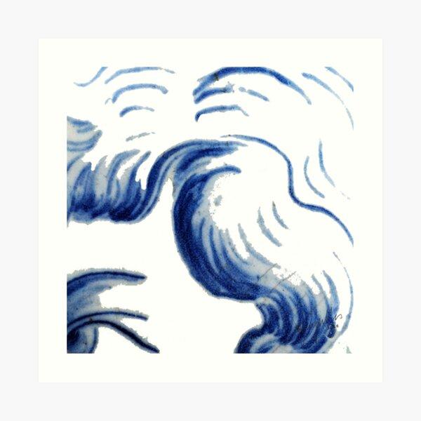 The Look Of An Angel - Azulejo 1.7 RazMeyrelles 2018 Art Print
