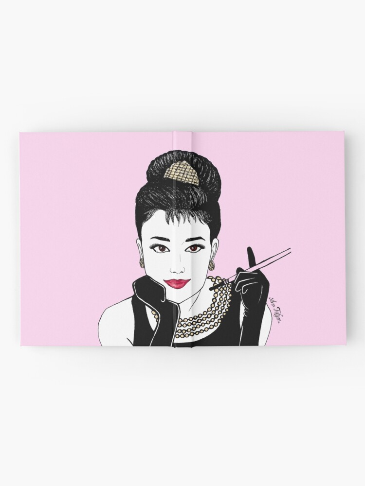 Alternate view of Audrey  Hardcover Journal