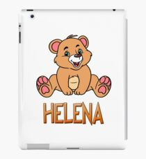 Helena Bear Mug iPad Case/Skin