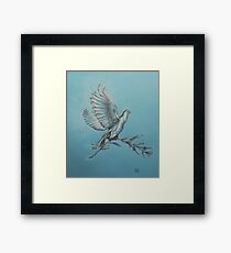 Dove of Peace. Framed Print