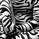Zebra Print Detail by AnonymousArt