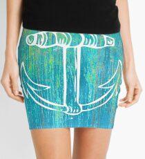 Rustic Anchor  Mini Skirt