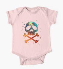Space Pirate, Skull, Crossbones, Captain, Bone, Anime, Comic One Piece - Short Sleeve