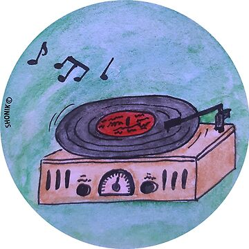 Record player (phonograph) by shonik