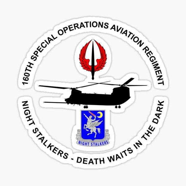 160th SOAR MH47 Chinook 07162018A Sticker