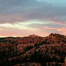 Morning Sun Illuminating Bryce Canyon by Len Bomba