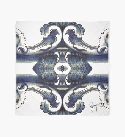 Baroque Scrollwork - Azulejo 1.9 RazMeyrelles 2018 Scarf