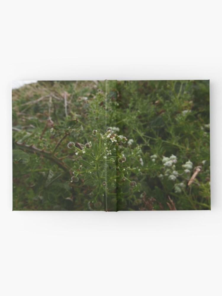 Alternate view of Cleavers (Galium aparine) Hardcover Journal
