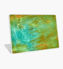 abstract landscape oil painting Laptop Skin