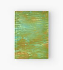 abstract landscape oil painting Hardcover Journal