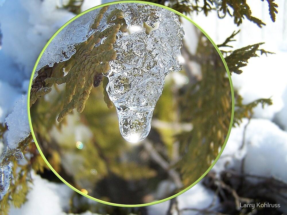 Ice Lights 3 by Larry Kohlruss