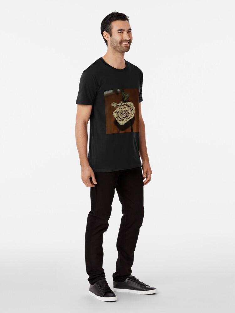 Alternate view of Dried Rose Premium T-Shirt