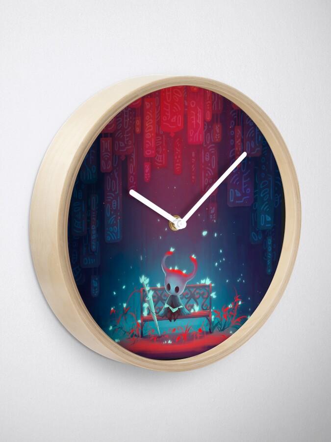 Alternate view of Hollow Knight Clock