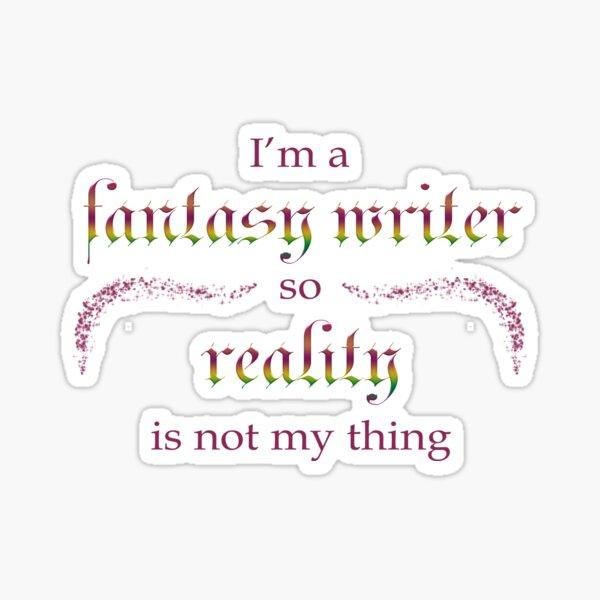 Fantasy Writer Sticker
