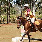 Horse Sports Challenge II by Caroline Angell