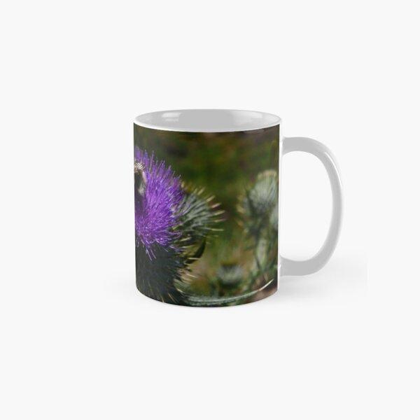 Spear Thistle (Cirsium vulgare) Classic Mug