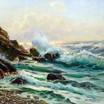 Constantin Alexandrovitch Westchiloff Maine Seascape by pdgraphics
