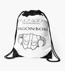 Dovahkiin - Dragonborn Drawstring Bag