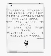 Dragonborn song iPad Case/Skin